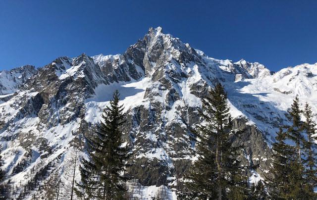 Courmayeur montagna Valle d'Aosta