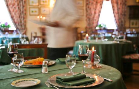 Villa Novecento Romantic Hotel Courmayeur ristorante
