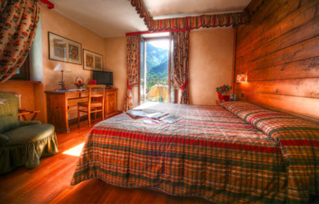 Villa Novecento Romantic Hotel camera Courmayeur