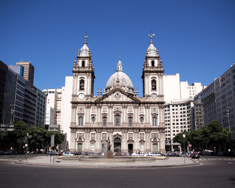 Igreja de Nossa Senhora da Candelaria Rio de Janeiro Brasile