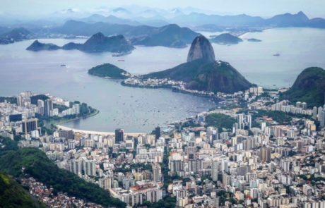 Rio de Janeiro vista dal Cristo Redentore Brasile
