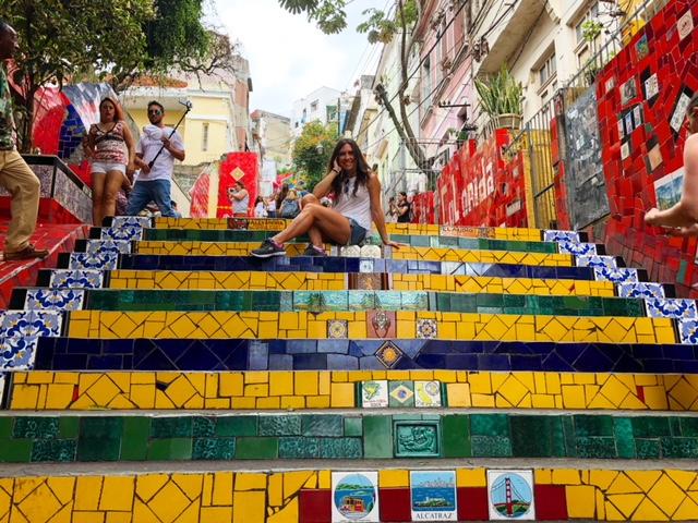 Scalinata Selaròn Rio De Janeiro Brasile