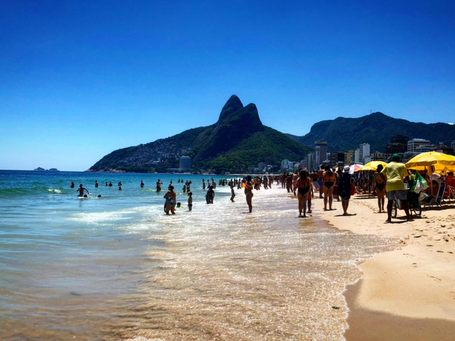 Spiaggia Ipanema Rio de Janeiro Brasile