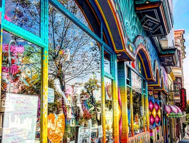 haight ashbury san francisco colors
